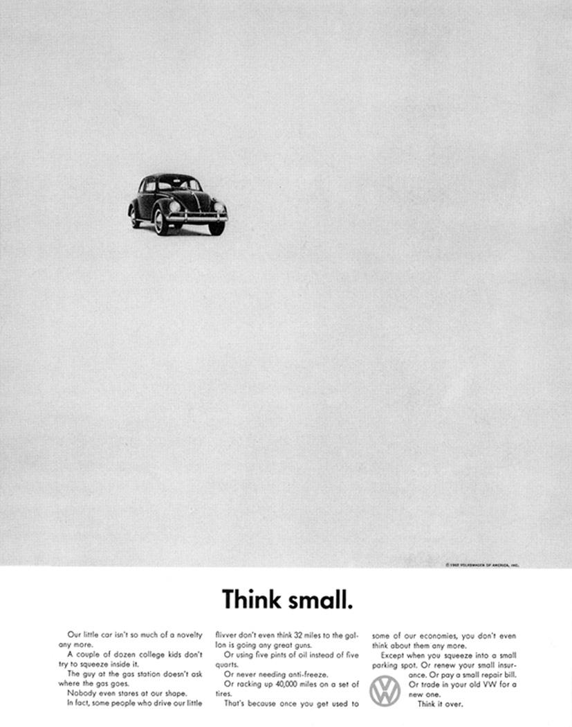 VW_ThinkSmall Think Small | DDB