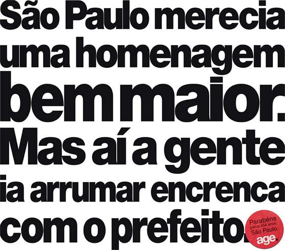 23489_age Aniversário de São Paulo | Diversas Agências