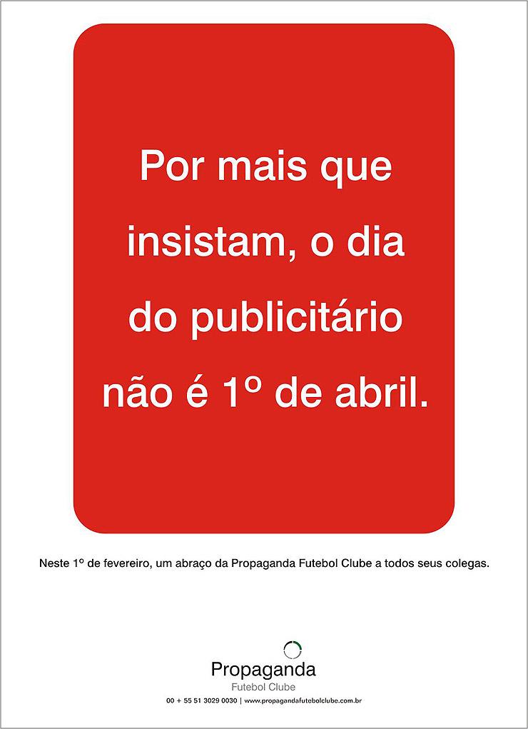 8675 Dia do publicitário | Propaganda FC
