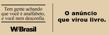 w_topo O anúncio que virou livro | W/Brasil