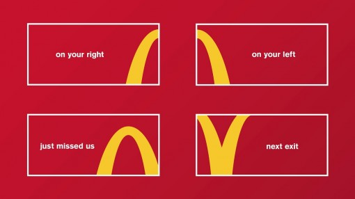 next-exit-mcdonalds-cannes01-510x286 McDonald's Follow the Arches | Cossette